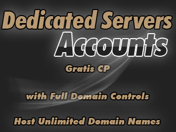 Moderately priced dedicated server service